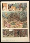 Lithographie WWF : Tintin Trésor Rackham le rouge