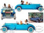 Atlas Tintin Lincoln Torpedo Cigares Pharaon