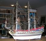 Maquette de la Licorne 60cm
